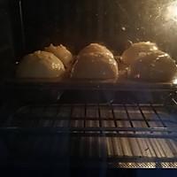 咸蛋黄肉松小面包的做法图解17