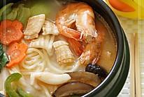 海鲜火锅面的做法