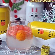 金桔西柚鸡尾酒