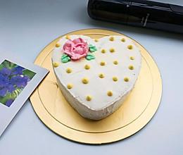 6寸奶油蛋糕#马卡龙·奶油蛋糕看过来#的做法