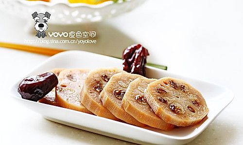 红枣糯米藕的做法