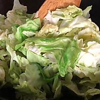 #我要上首焦#超级下饭菜手撕包菜的做法图解4