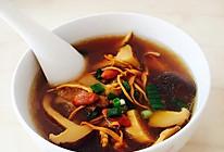 养生菌菇排骨汤的做法