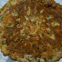 胡萝卜木耳鸡蛋饼