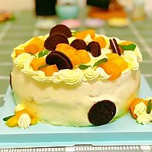 芒果夹心奶油蛋糕—8寸