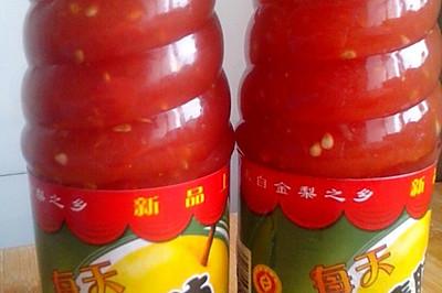 自制的西红柿酱