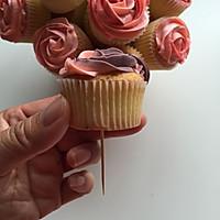 长帝e·Bake互联网烤箱之杯子蛋糕花束的做法图解14