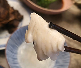 清水煮活鱼(最少的食材最鲜的味道)