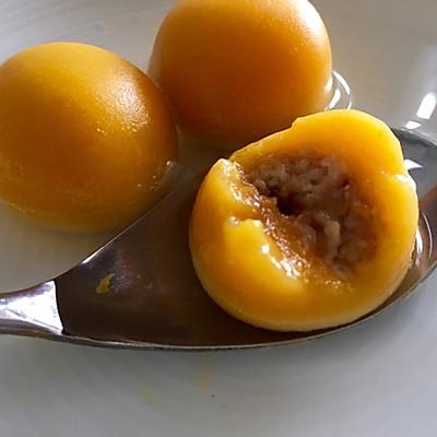 南瓜汤圆(燕麦奶酪内馅)—— 一人食的做法 步骤18
