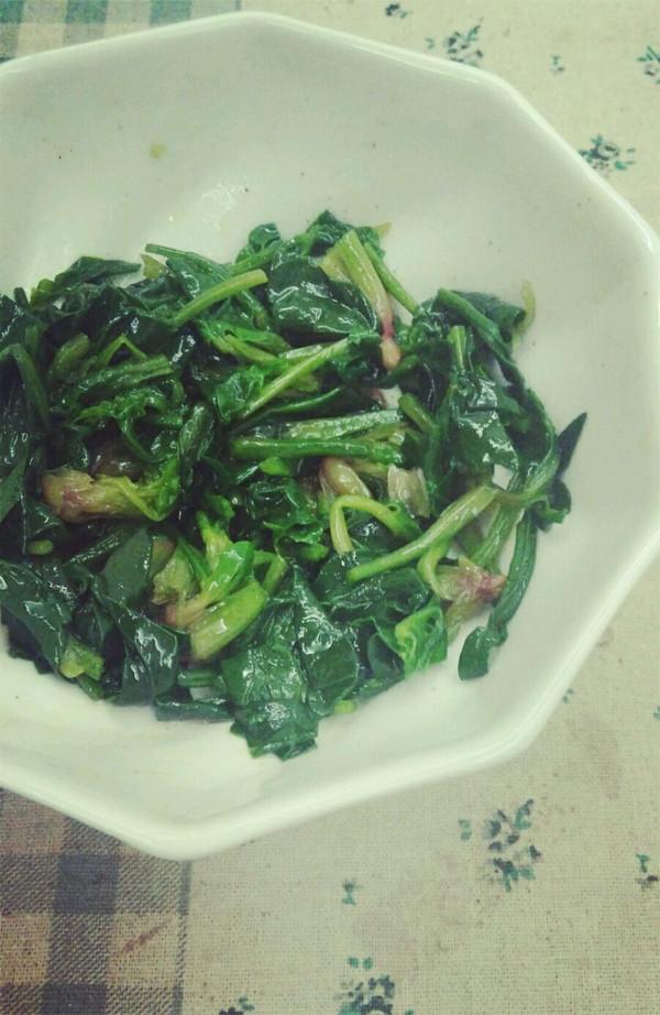 橄露Gallo经典特级初榨橄榄油试用之简易菠菜沙拉的做法