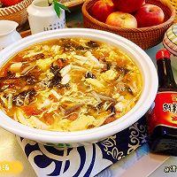 #福气年夜菜#暖心暖胃,减脂消食-家常酸辣汤的做法图解19