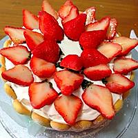 草莓夏洛特蛋糕的做法图解7