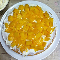 水果奶油蛋糕#豆果5周年#的做法图解7