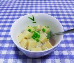 自制碱水米豆腐,清凉嫩滑倍好吃的做法