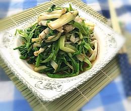 凉拌水芹菜的做法