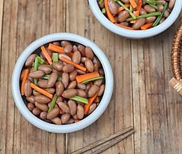凉拌五香花生豆的做法