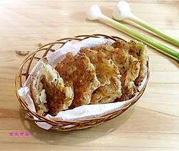 虾皮萝卜香煎饼的做法