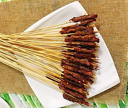 家庭版:烤牛肉串的做法