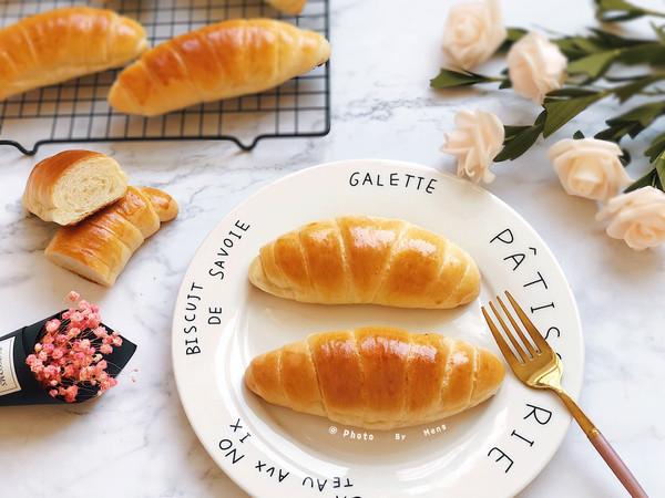 鲜奶香草牛角面包【消耗马斯卡彭】的做法