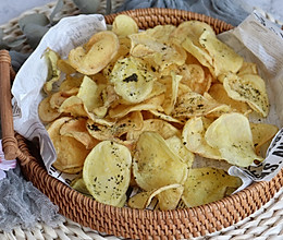无油油炸,超简单的低脂自制烤薯片的做法