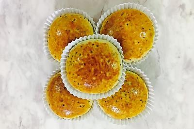 三色藜麦奶油椰蓉面包