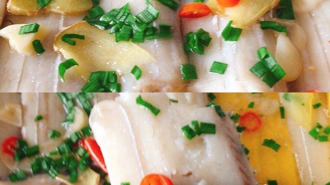 #鲜到鲜得,月满中秋,沉鱼落宴#清蒸带鱼的做法
