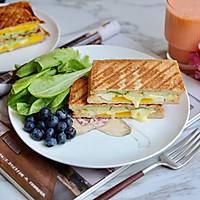 黄瓜鸡蛋热压三明治#花10分钟,做一道菜!#的做法图解16