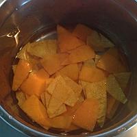 冰糖渍橙皮的做法图解3