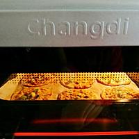 #父亲节,给老爸做道菜#饺子皮葱油孜然薄脆饼的做法图解12