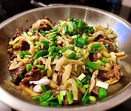 牛肉蒸榨菜的做法