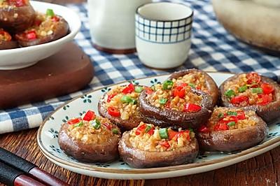 日食记 | 蒜蓉烤香菇