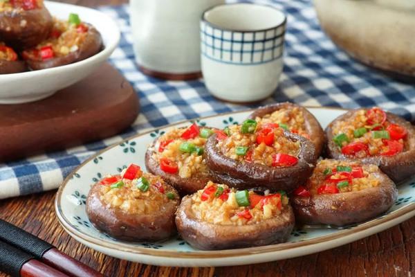 日食记 | 蒜蓉烤香菇的做法