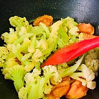 #百变鲜锋料理#鲍汁蚝油西红柿炒花菜的做法图解15