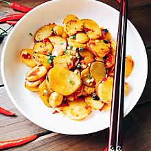 香辣土豆片(少油版)