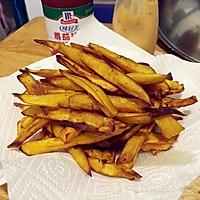 炸红薯条的做法图解2