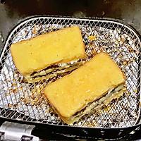 #花10分钟,做一道菜!#奥利奥酸奶香蕉吐司的做法图解8