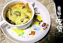 泰小妍の黑椒牛肉粒芝士焗饭的做法