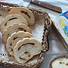 鲜奶葡萄干哈斯面包