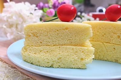 蒸蛋糕 宝宝健康食谱