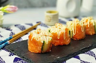一口兩世界 魚籽醬越南春卷壽司