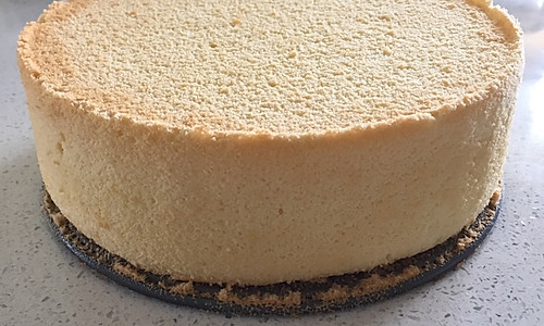 零失误8寸戚风蛋糕的做法