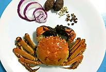 辣卤大闸蟹的做法