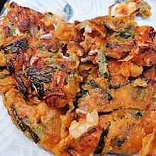 韩式泡菜海鲜煎饼
