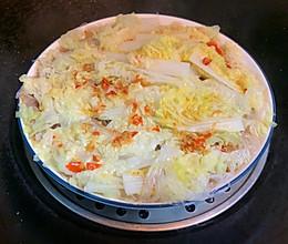 蒜蓉辣椒粉丝蒸白菜的做法