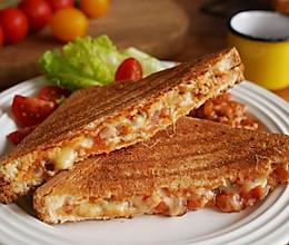 美味肉派风三明治|咬一口肉香满溢的做法