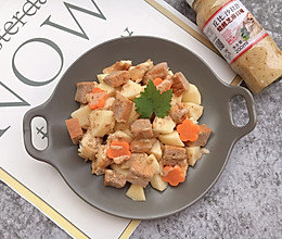 #合理膳食 营养健康进家庭#鸡肉苹果沙拉的做法