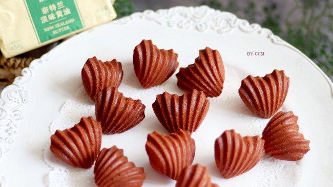 #奈特兰草饲营养美味# 红丝绒枫糖玛德琳蛋糕的做法