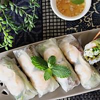 越南春卷,一茶一饭的光辉,是我俩的小确幸。的做法图解1