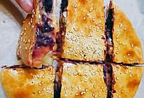 紫薯芝士饼的做法