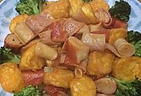 日本豆腐蟹柳煲的做法